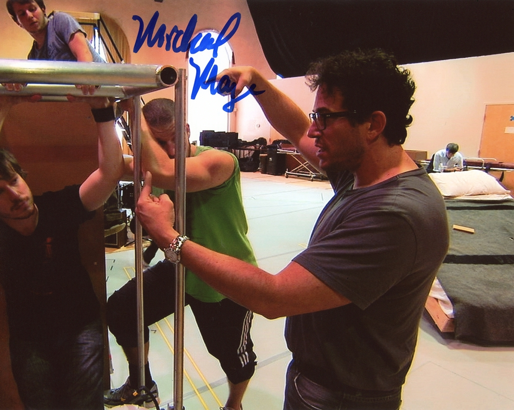 Michael Mayer Signed Photo