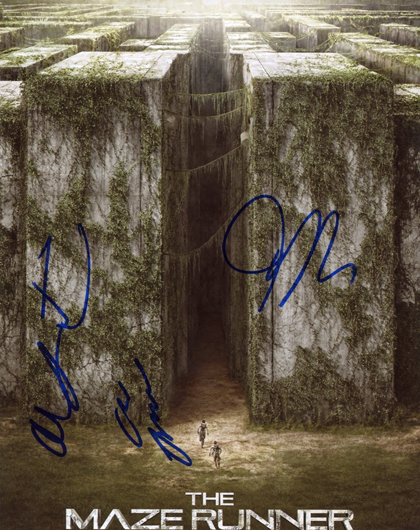 Maze Runner Signed Photo