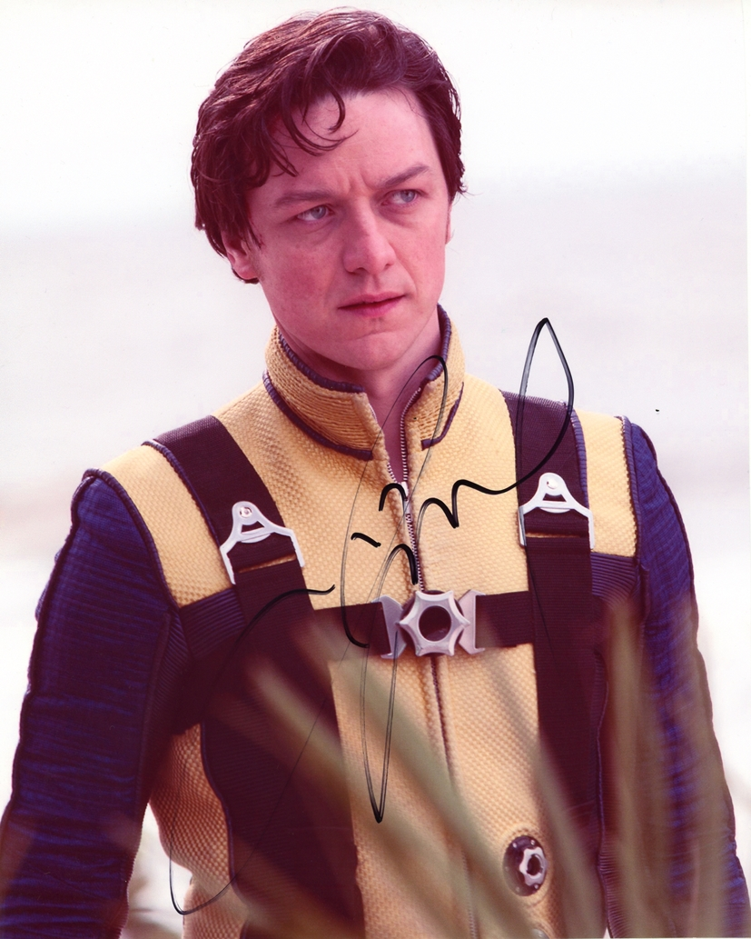 James McAvoy Signed Photo