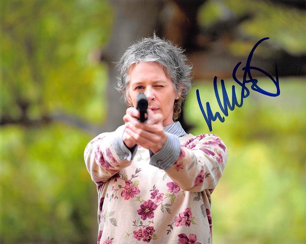 Melissa McBride Signed Photo