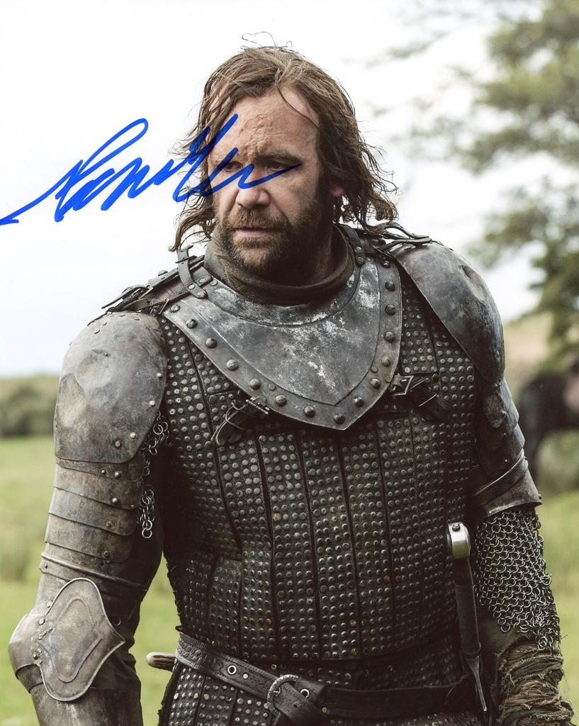 Rory McCann Signed Photo