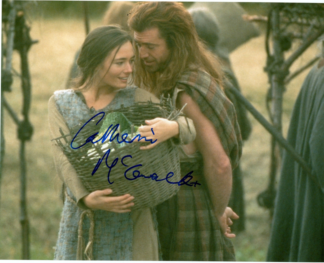 Catherine McCormack Signed Photo
