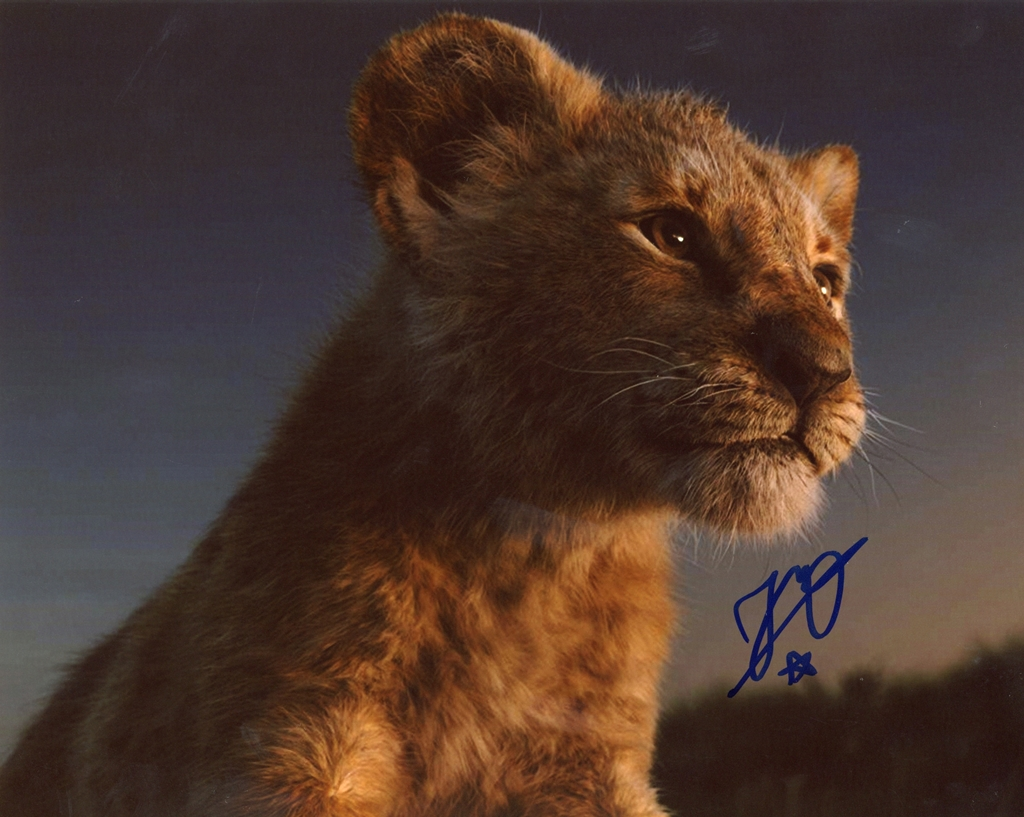 JD McCrary Signed Photo
