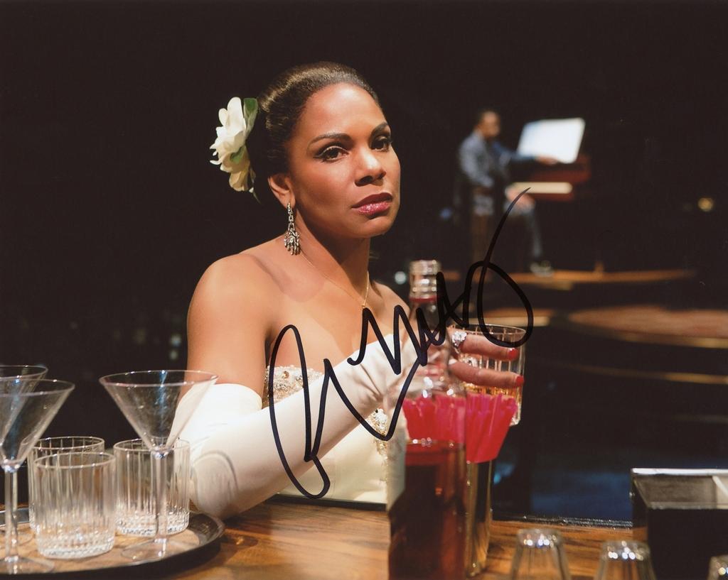 Audra McDonald Signed Photo