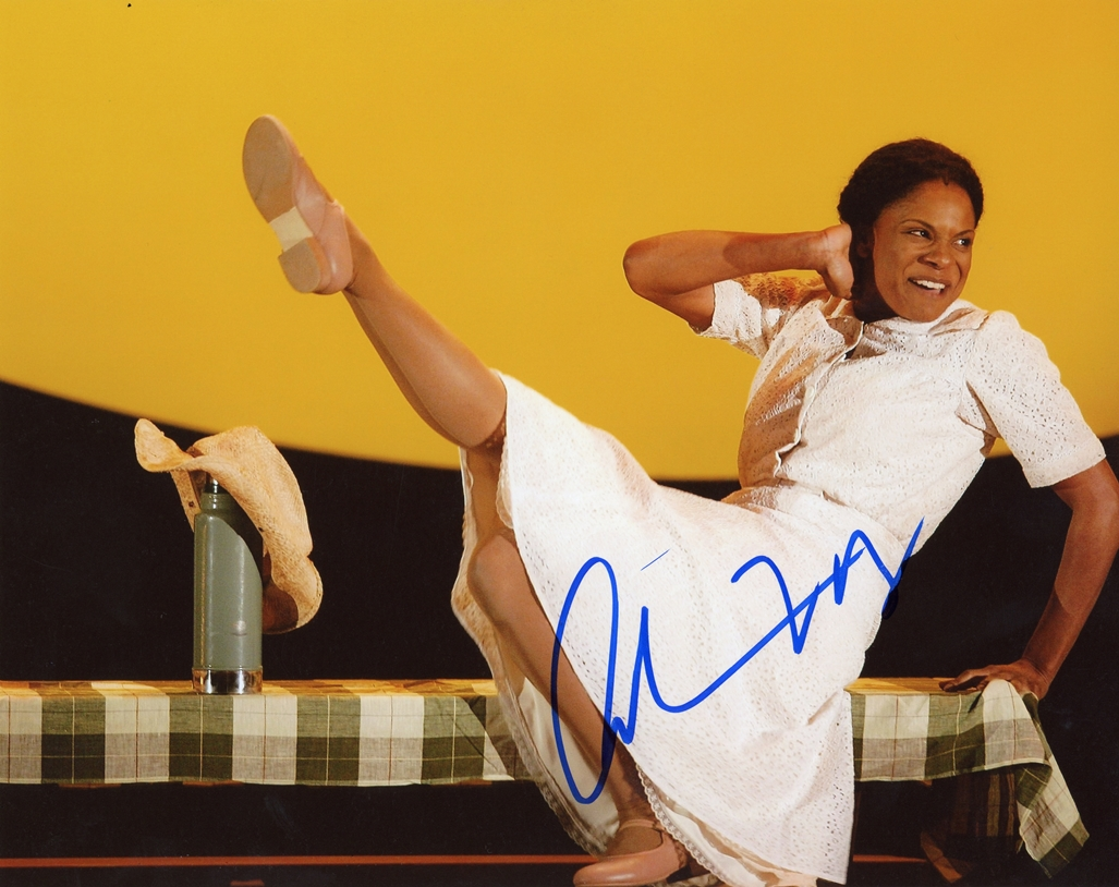 Audra McDonald Signed Photo
