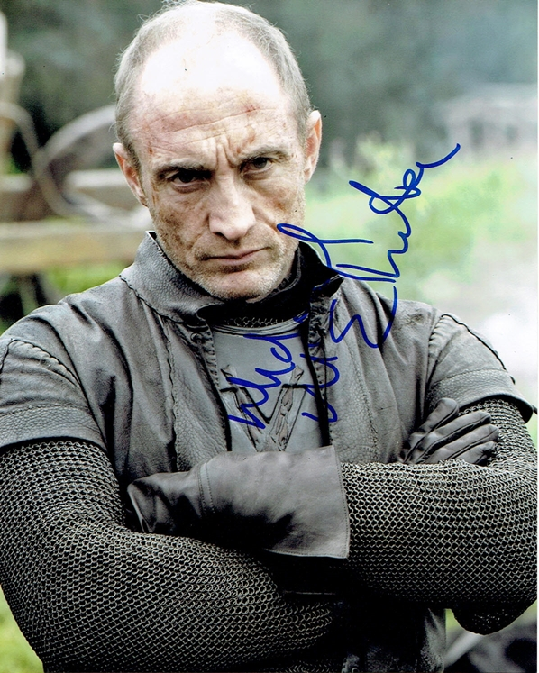 Michael McElhatton Signed Photo