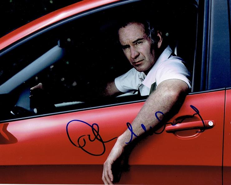 John McEnroe Signed Photo