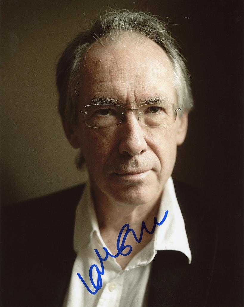 Ian McEwan Signed Photo