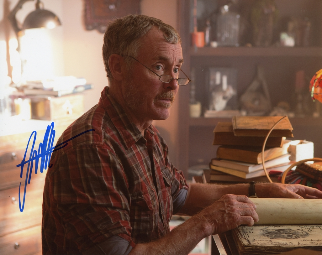 John C. McGinley Signed Photo