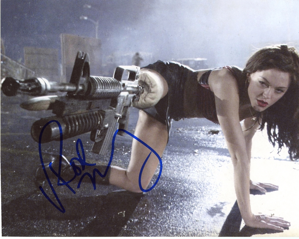 Rose McGowan Signed Photo