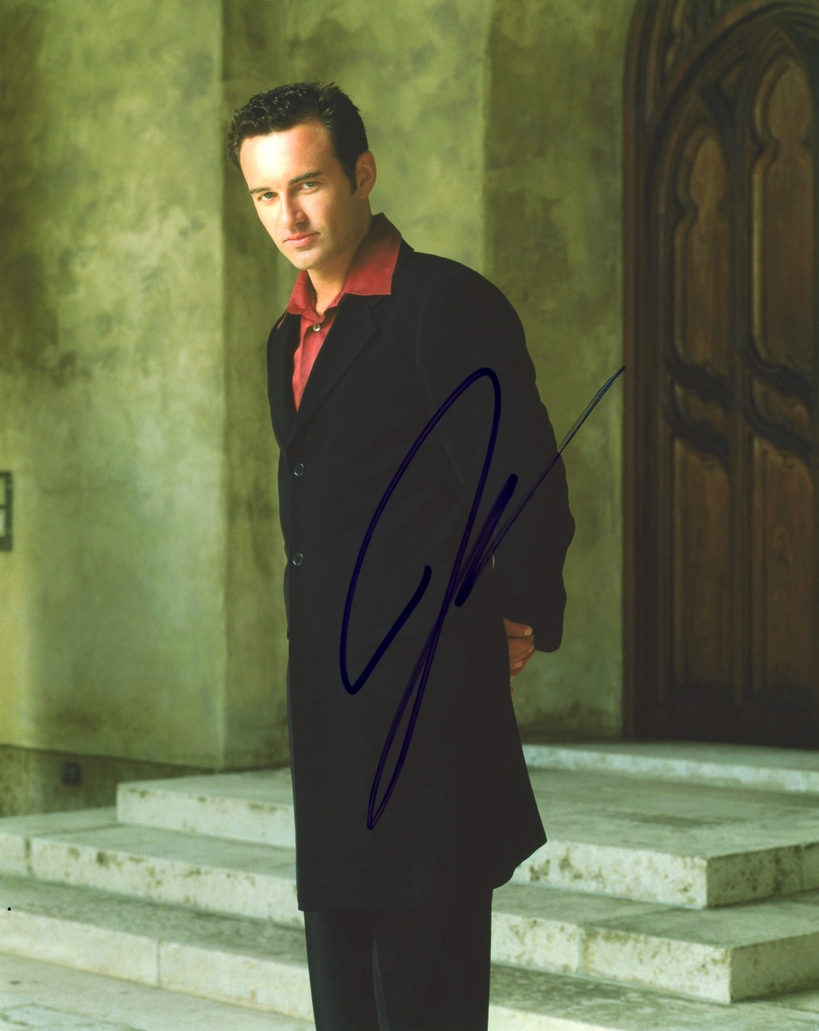 Julian McMahon Signed Photo