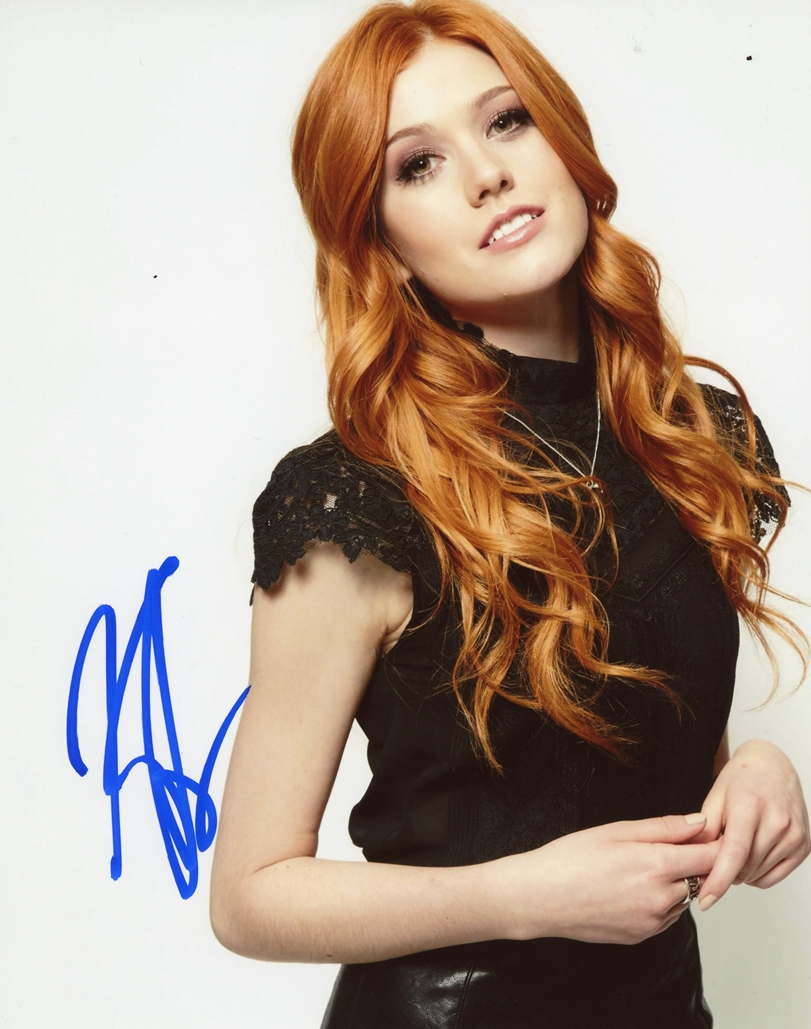 Katherine McNamara Signed Photo
