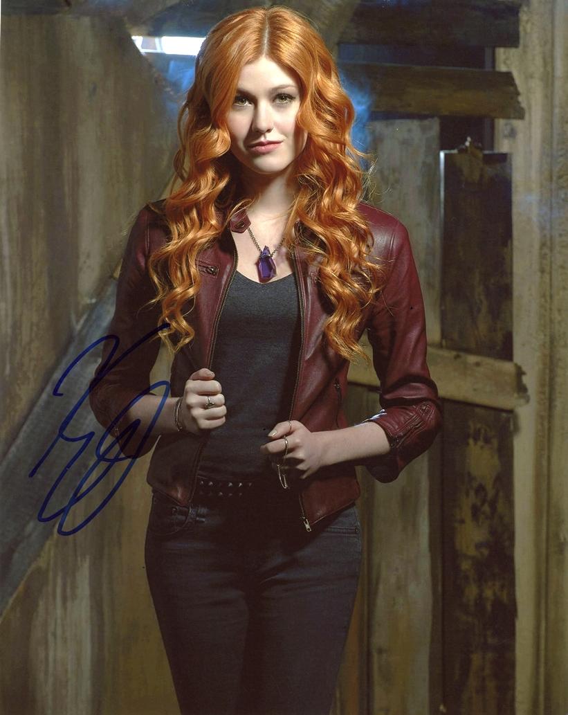 Katherine McNamara Signed Photo