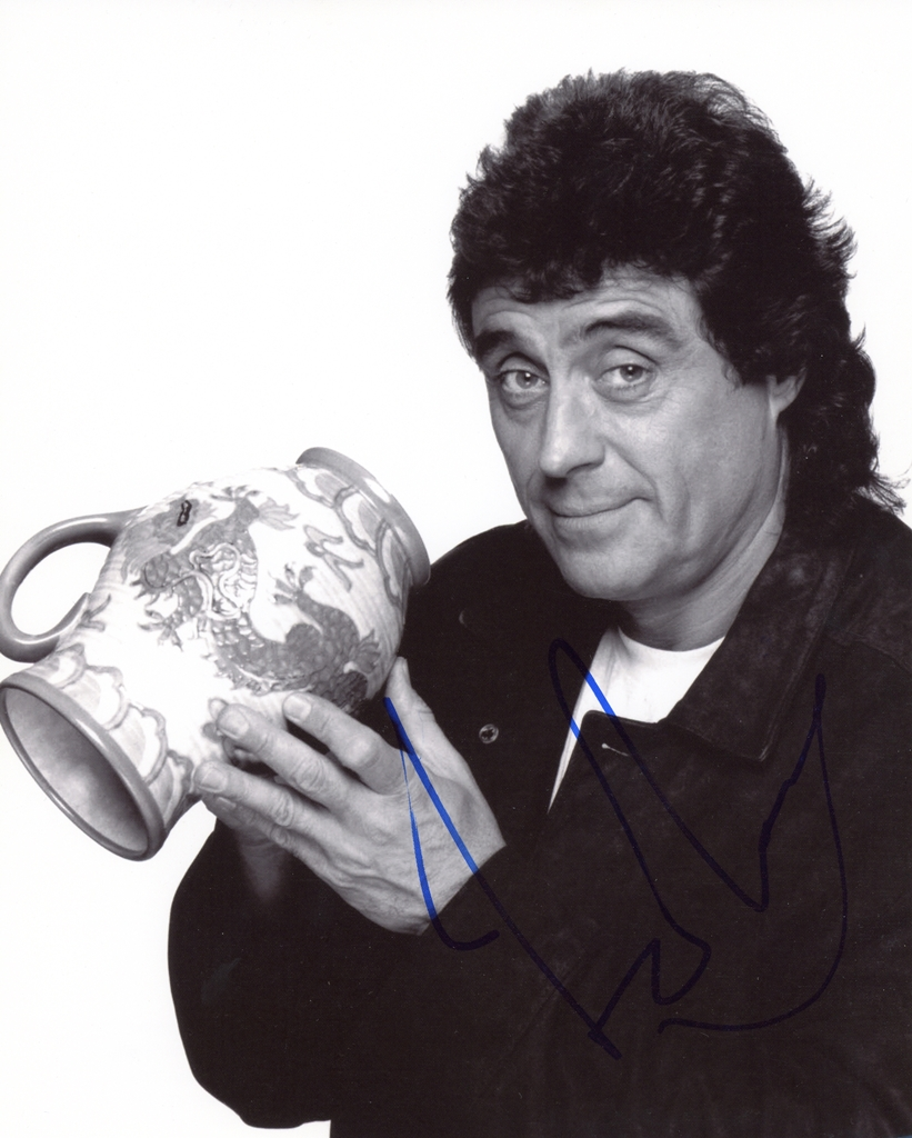 Ian McShane Signed Photo