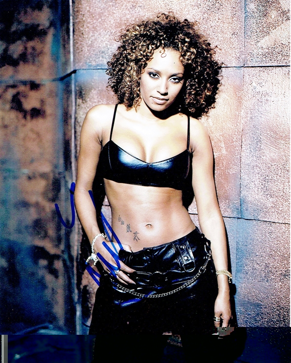 Mel B Signed Photo