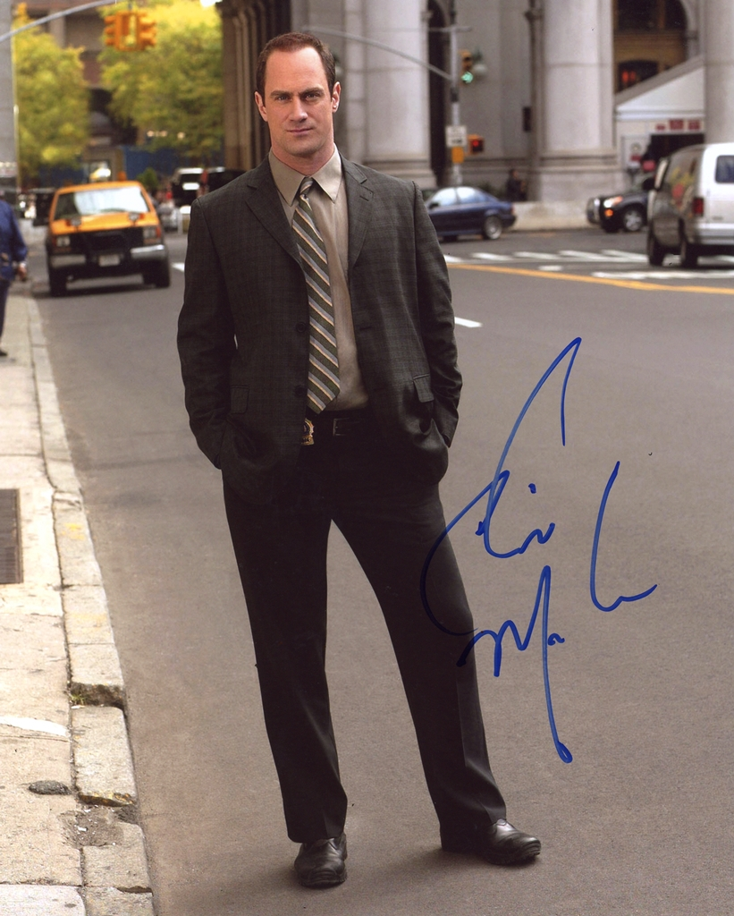 Christopher Meloni Signed Photo