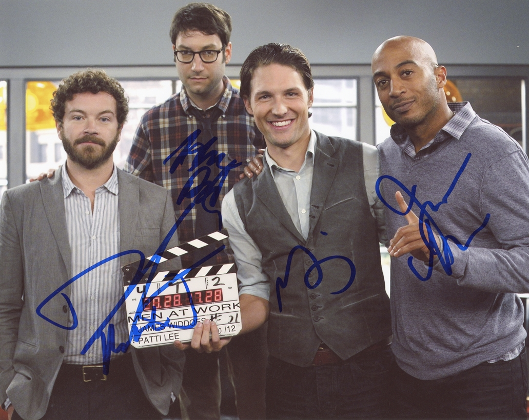 Men at Work Signed Photo