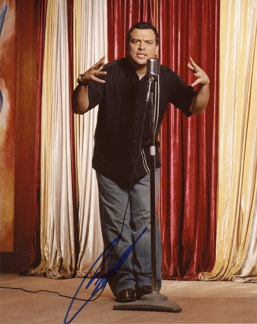Carlos Mencia Signed Photo