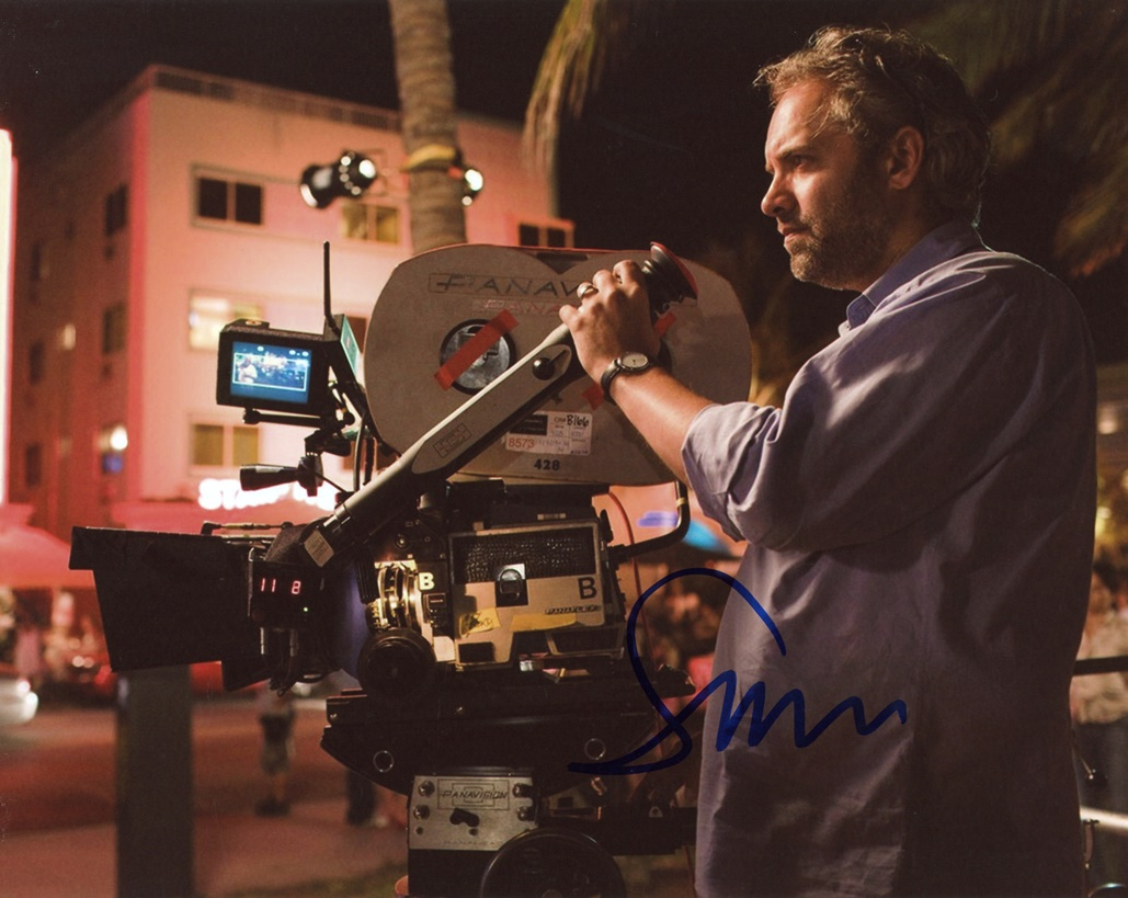 Sam Mendes Signed Photo