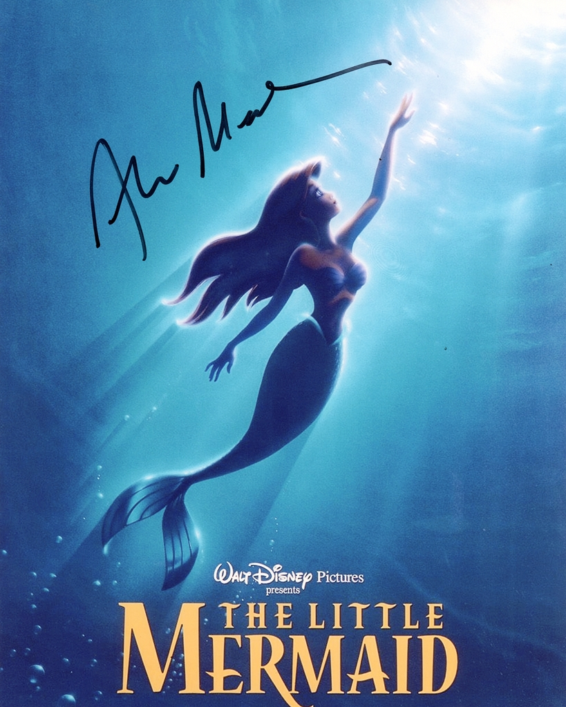 Alan Menken Signed Photo
