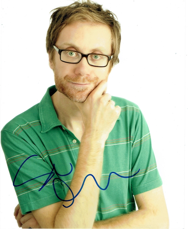 Stephen Merchant Signed Photo