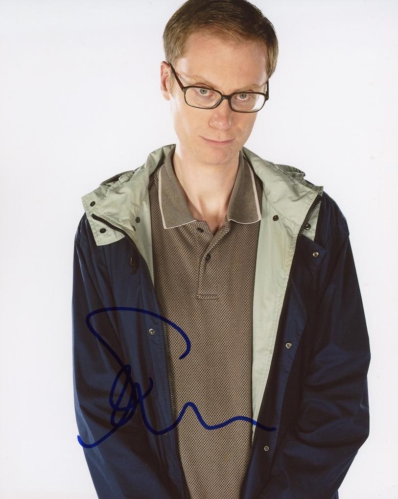 Stephen Merchant Signed Photo