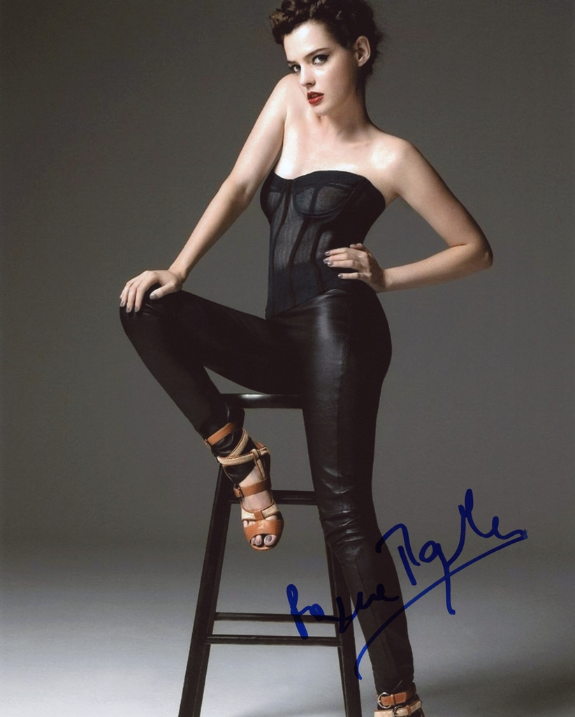 Roxane Mesquida Signed Photo