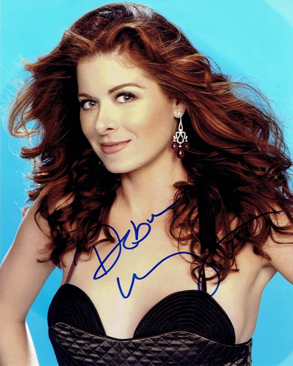 Debra Messing Signed Photo