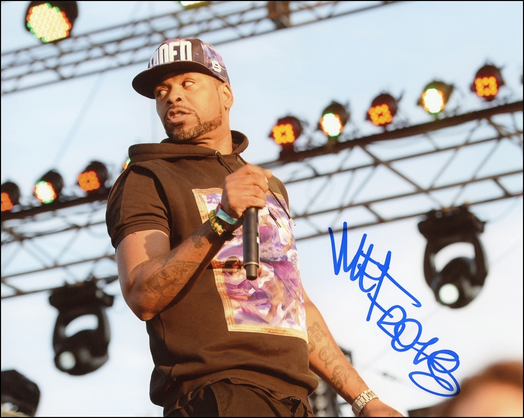 Method Man Signed Photo