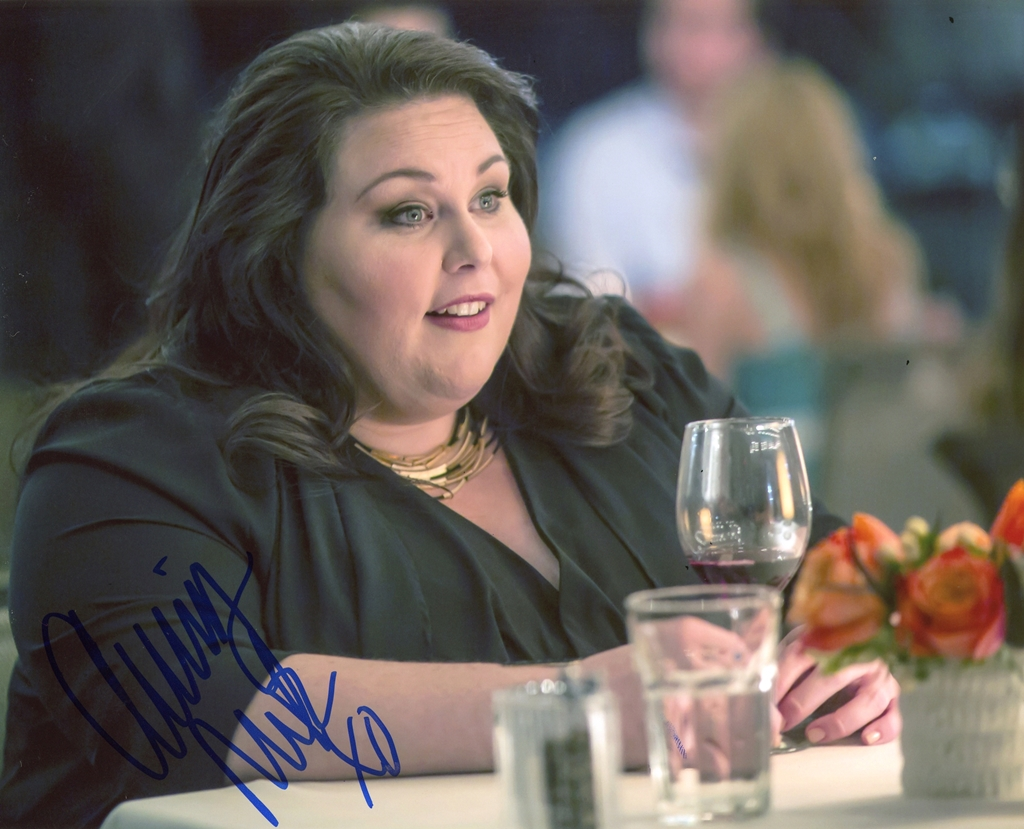 Chrissy Metz Signed Photo