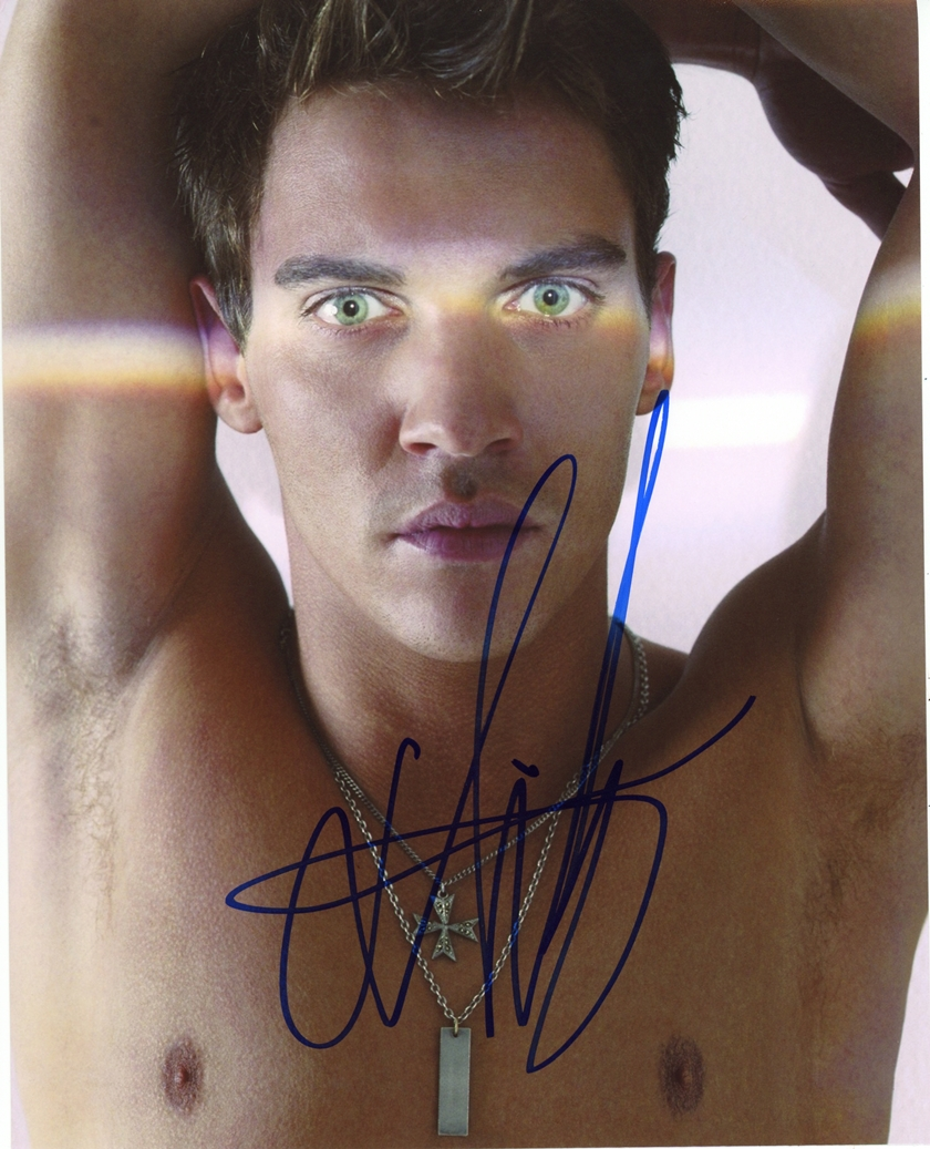 Jonathan Rhys Meyers Signed Photo