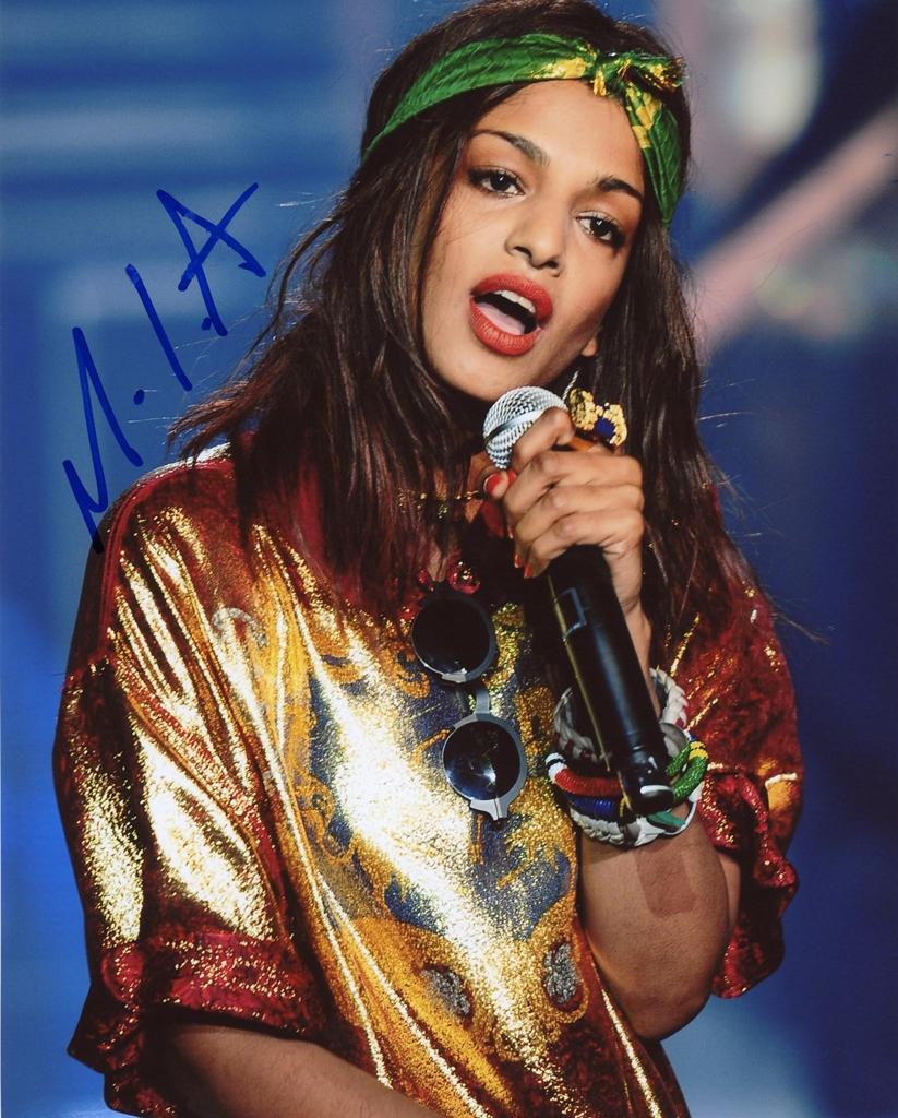 M.I.A. Signed Photo