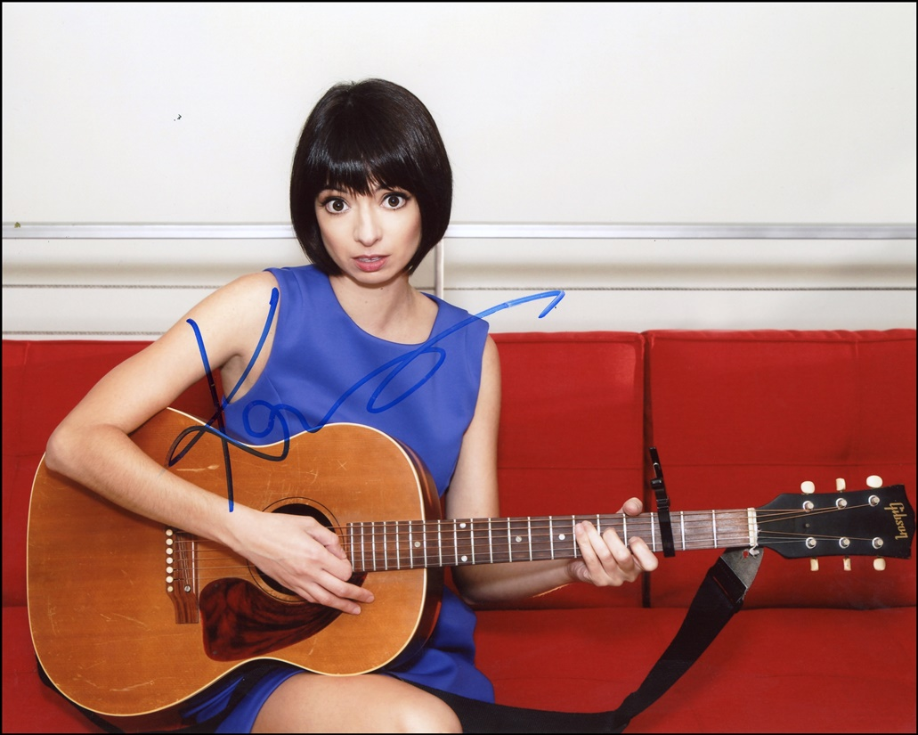 Kate Micucci Signed Photo