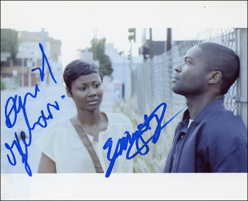 David Oyelowo & Emayatzy Corinealdi Signed Photo
