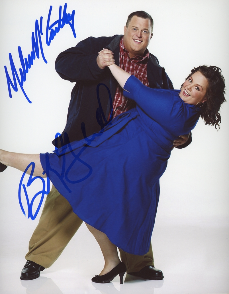 Mike and Molly Signed Photo