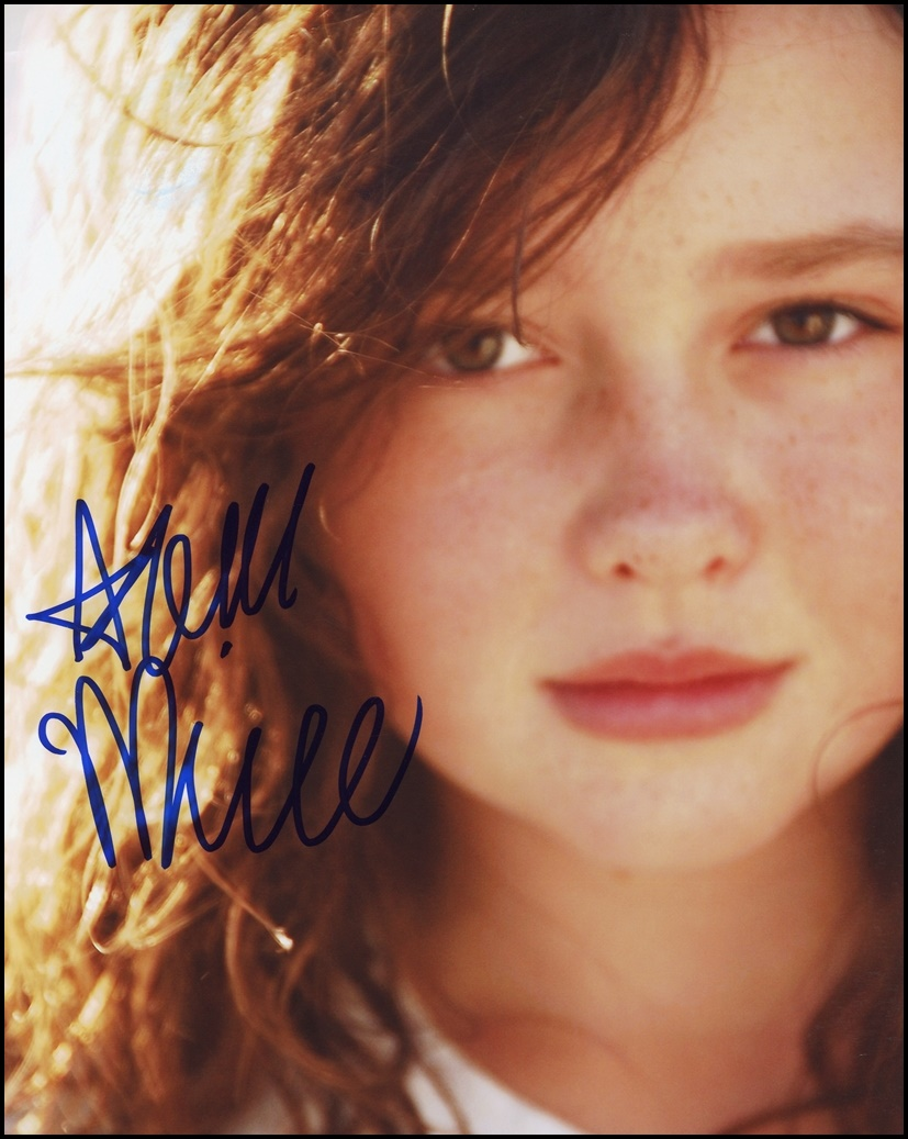 Amara Miller Signed Photo