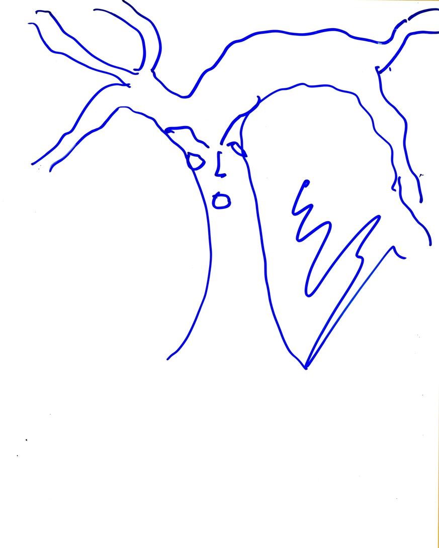 Ezra Miller Signed Sketch