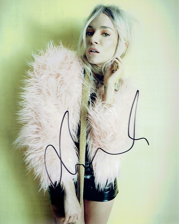 Sienna Miller Signed Photo