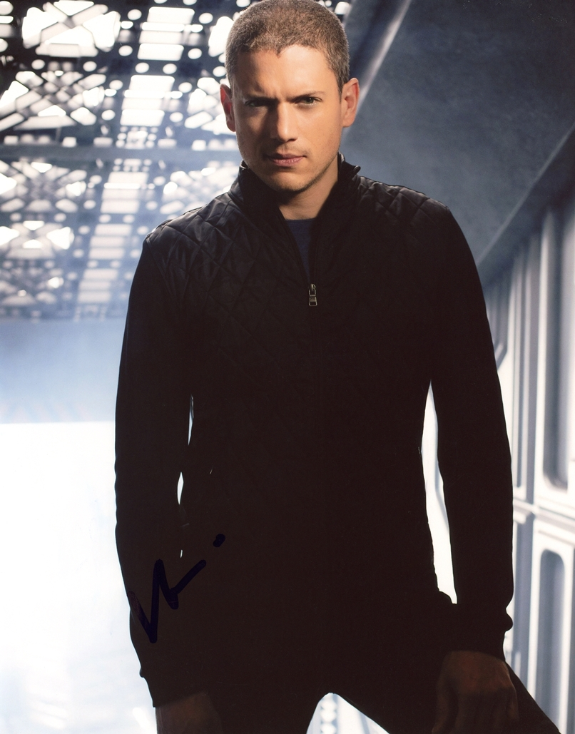 Wentworth Miller Signed Photo