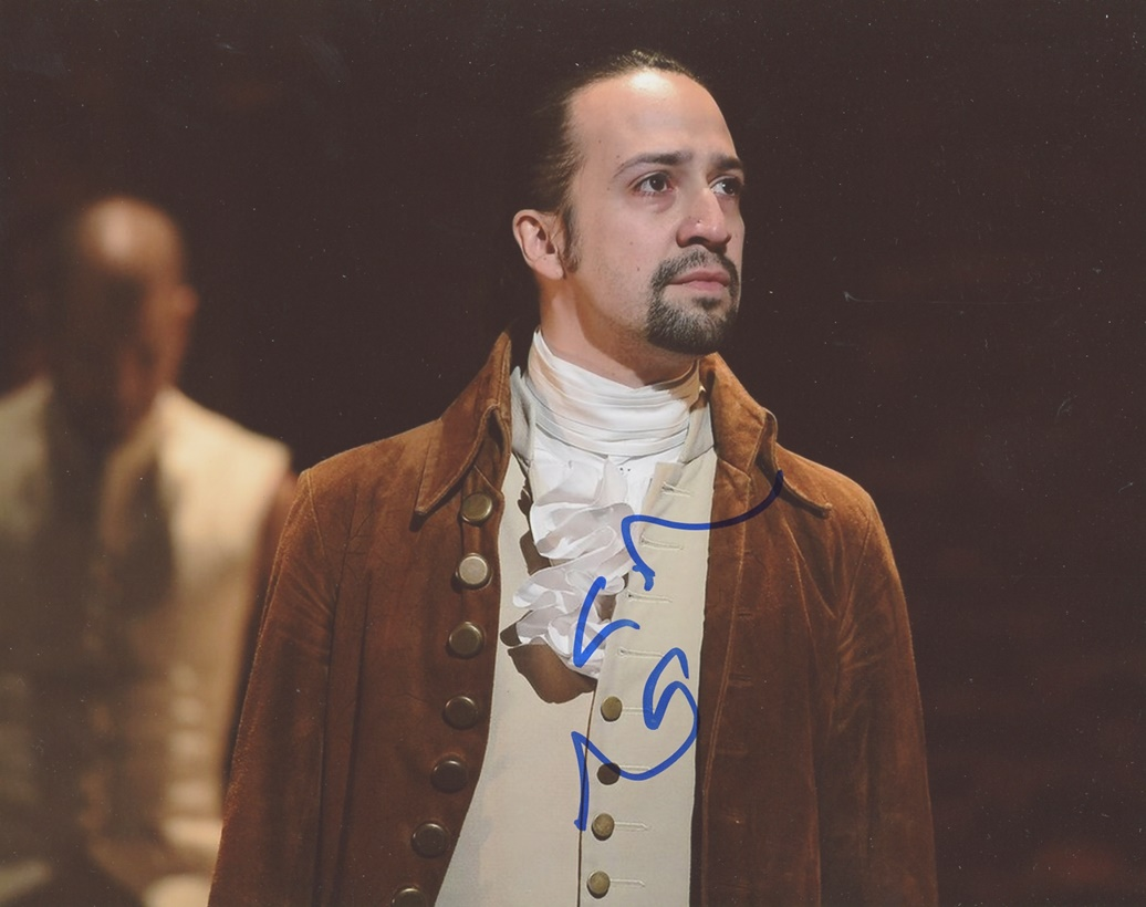 Lin-Manuel Miranda Signed Photo