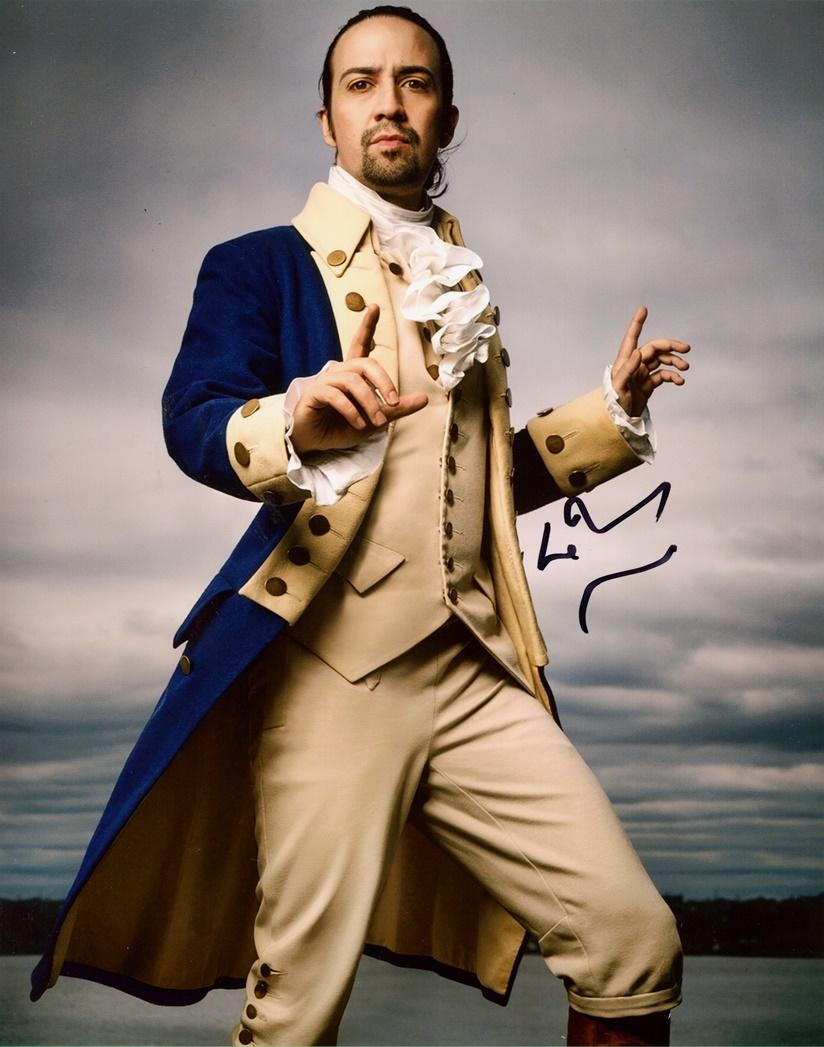 Lin-Manuel Miranda Signed Photo
