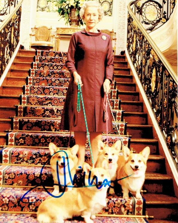 Helen Mirren Signed Photo