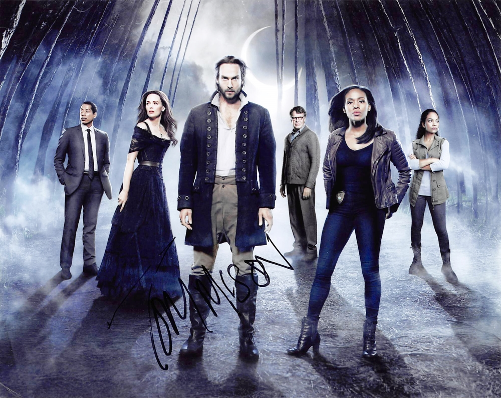 Tom Mison Signed Photo