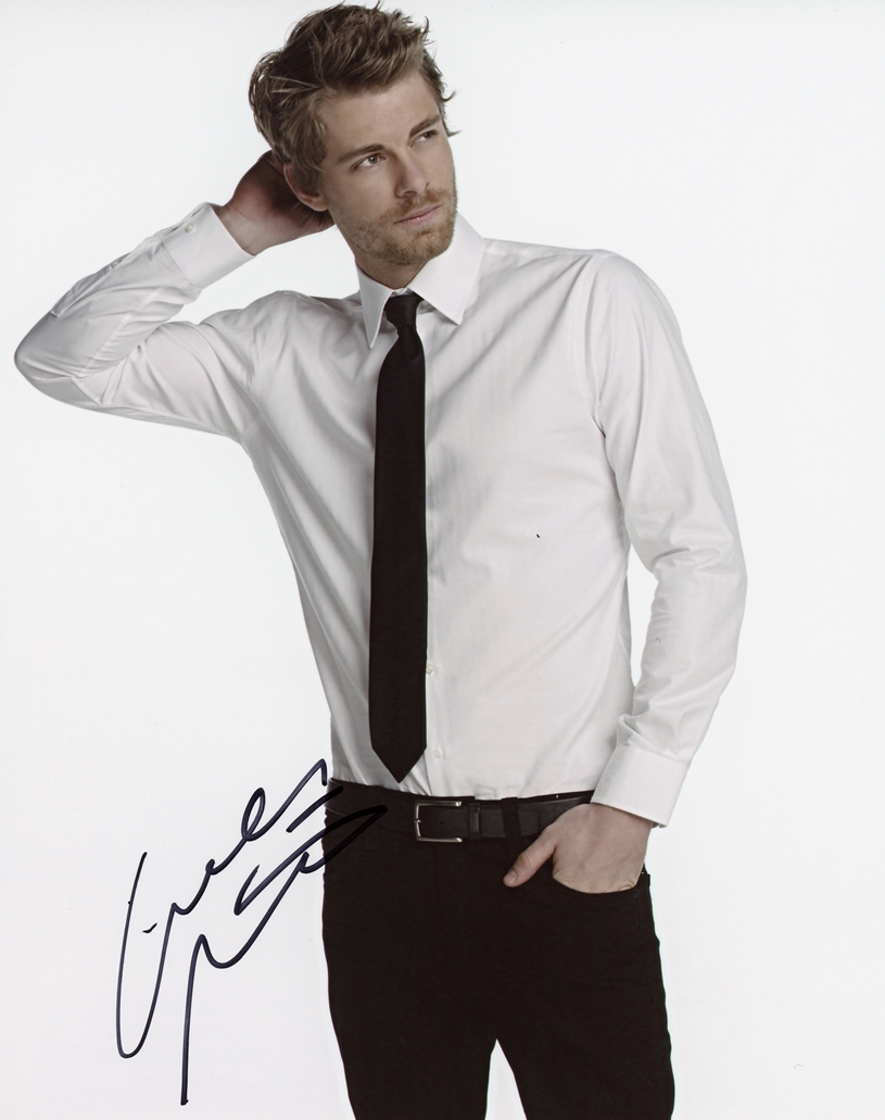 Luke Mitchell Signed Photo