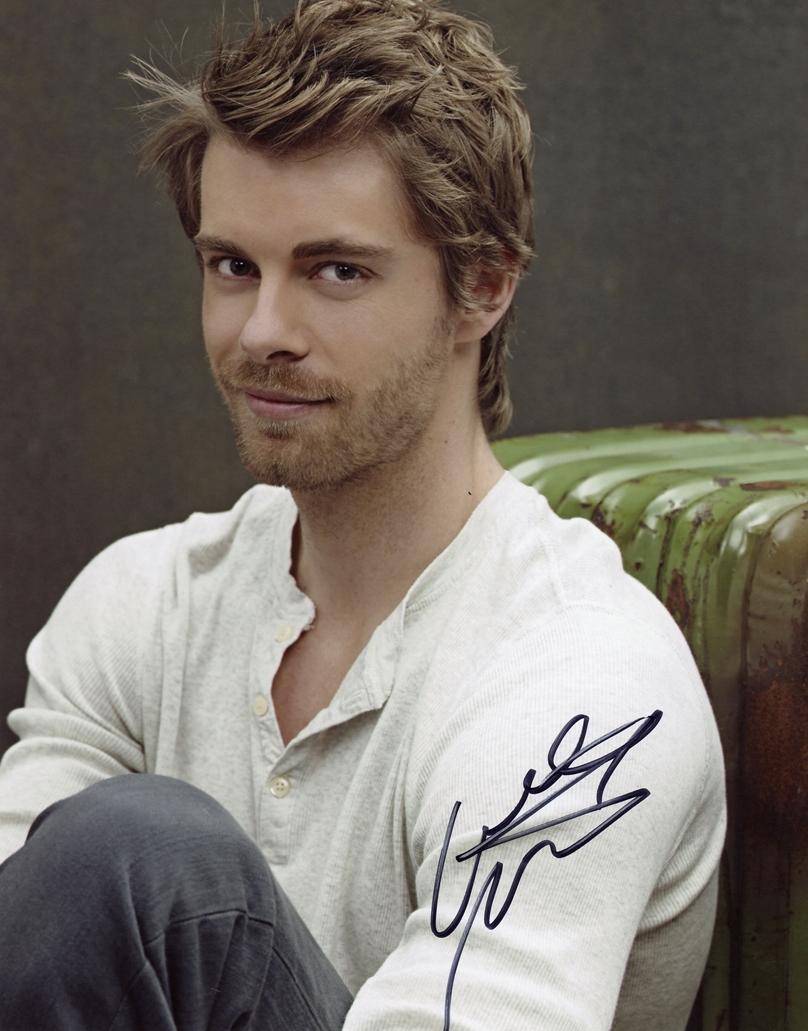 Luke Mitchell Signed Photo