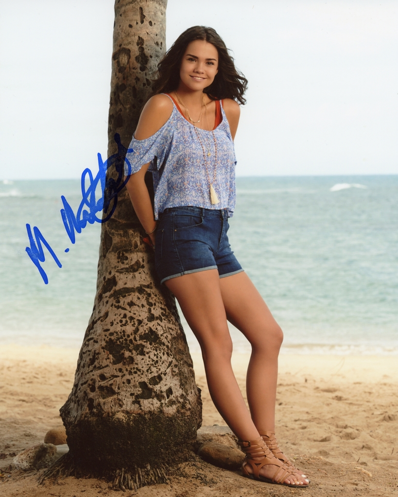 Maia Mitchell Signed Photo
