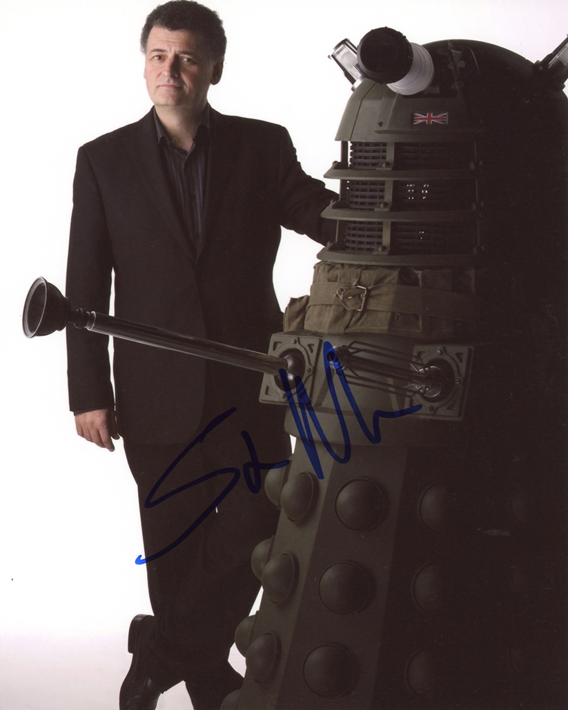 Steven Moffat Signed Photo