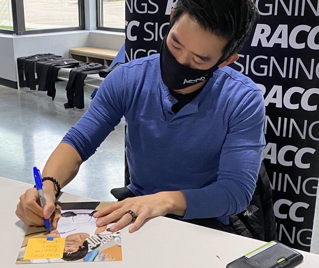 Mike Moh Signing Proof