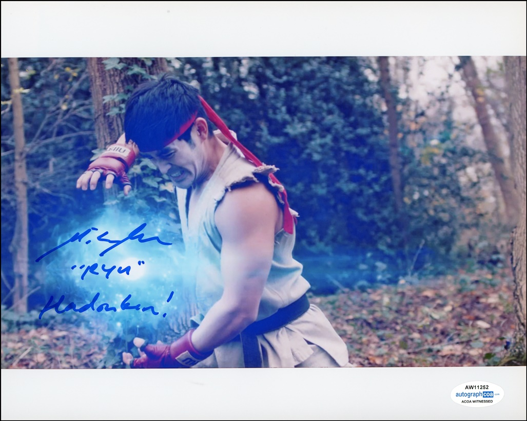 Mike Moh Signed Photo