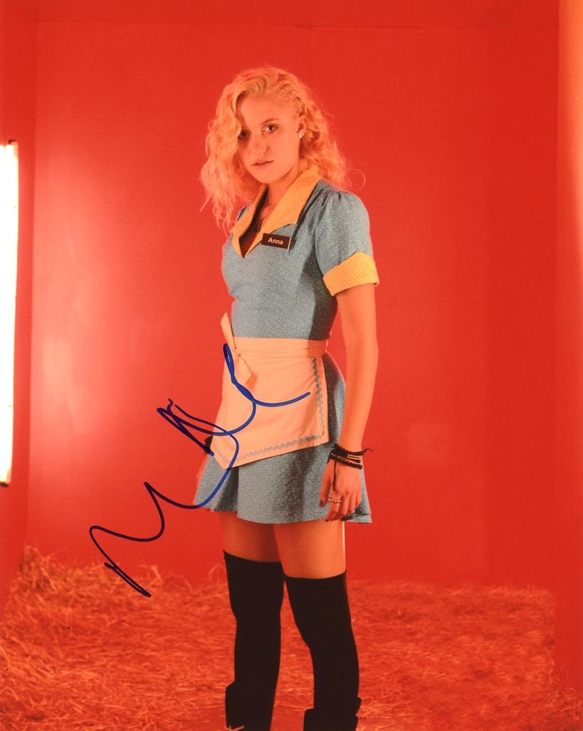 Maika Monroe Signed Photo
